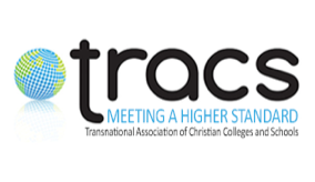 TRACS Meeting a Higher Standard - Transnational Association of Christian Colleges and Schools Logo